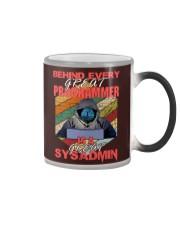 Behind great programmer Color Changing Mug thumbnail