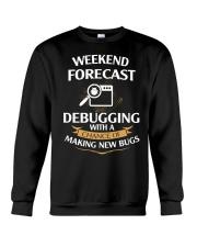 programmer weekend forecast Crewneck Sweatshirt thumbnail