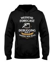 programmer weekend forecast Hooded Sweatshirt thumbnail