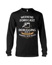programmer weekend forecast Long Sleeve Tee thumbnail
