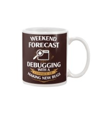 programmer weekend forecast Mug thumbnail