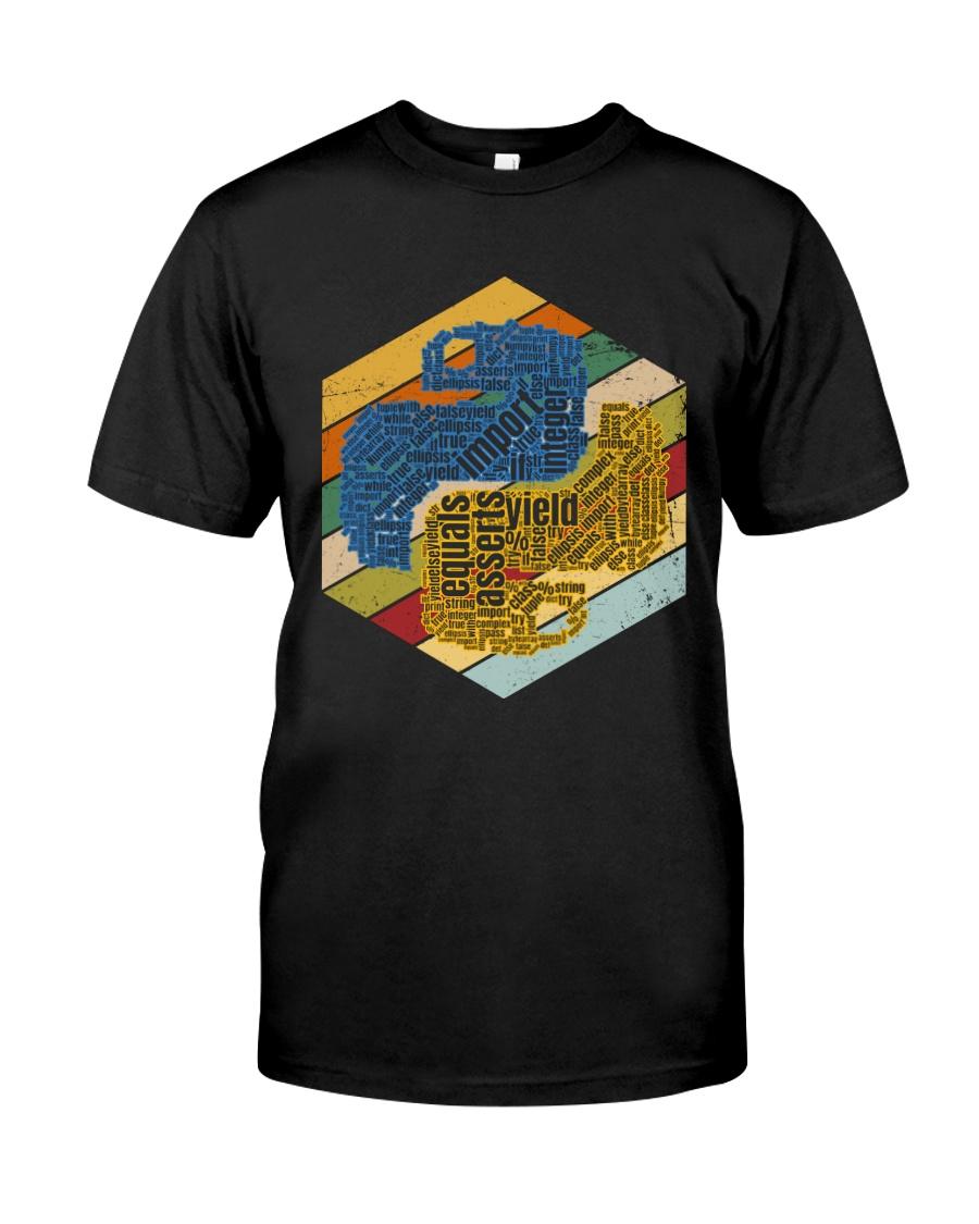 Oldschool py Classic T-Shirt