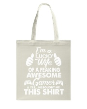 I am lucky wife Tote Bag thumbnail