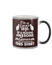 I am lucky wife Color Changing Mug thumbnail