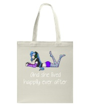 And she lived happily ever after Tote Bag thumbnail