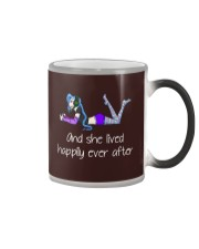 And she lived happily ever after Color Changing Mug thumbnail