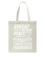 I am a programmer Tote Bag thumbnail