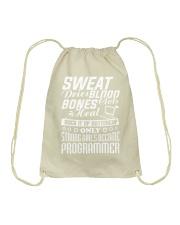 I am a programmer Drawstring Bag thumbnail