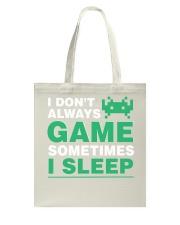 The gamer fact Tote Bag thumbnail