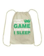 The gamer fact Drawstring Bag thumbnail