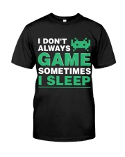 The gamer fact Classic T-Shirt front