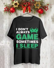 The gamer fact Classic T-Shirt lifestyle-holiday-crewneck-front-2