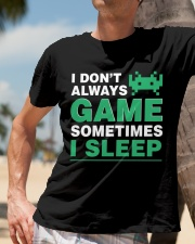 The gamer fact Classic T-Shirt lifestyle-mens-crewneck-front-11