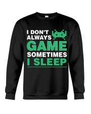 The gamer fact Crewneck Sweatshirt thumbnail