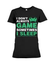 The gamer fact Premium Fit Ladies Tee thumbnail