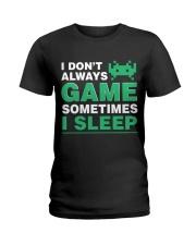 The gamer fact Ladies T-Shirt thumbnail