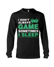 The gamer fact Long Sleeve Tee thumbnail