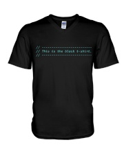 My comments V-Neck T-Shirt thumbnail