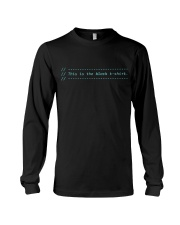 My comments Long Sleeve Tee thumbnail