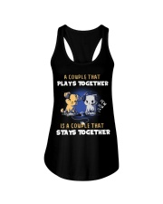 Play together - Stay together Ladies Flowy Tank thumbnail
