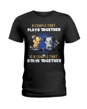 Play together - Stay together Ladies T-Shirt thumbnail