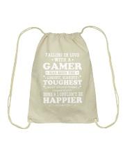 I am a Gamer Drawstring Bag thumbnail