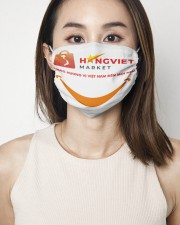 HANGVIET-MARKET 2 Layer Face Mask - Single aos-face-mask-2-layers-lifestyle-front-01