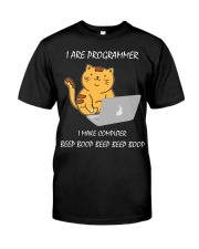 I are Programmer Classic T-Shirt front