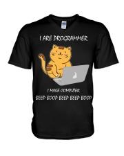 I are Programmer V-Neck T-Shirt thumbnail