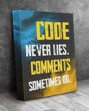 Code never lies 11x14 Gallery Wrapped Canvas Prints aos-canvas-pgw-11x14-lifestyle-front-08
