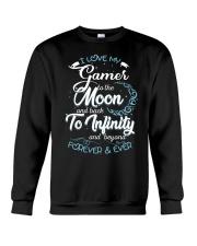 I love my GAMER Crewneck Sweatshirt thumbnail
