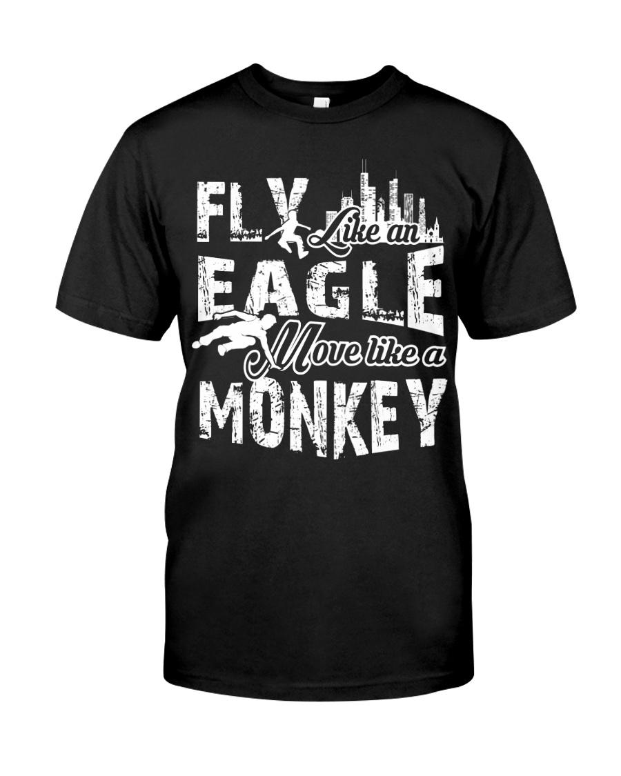 I do parkour Classic T-Shirt