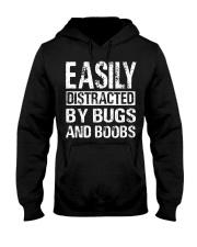 It works on my machine Hooded Sweatshirt front