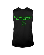 Asciing for trouble Sleeveless Tee thumbnail