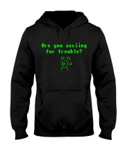 Asciing for trouble Hooded Sweatshirt thumbnail