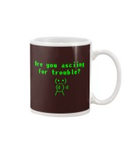 Asciing for trouble Mug thumbnail