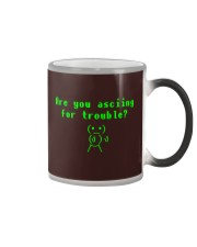 Asciing for trouble Color Changing Mug thumbnail