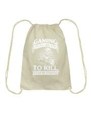 I am Gamer Drawstring Bag thumbnail