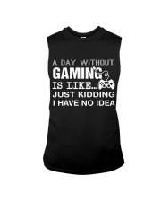 A day withou gaming Sleeveless Tee thumbnail