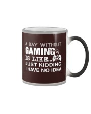 A day withou gaming Color Changing Mug thumbnail