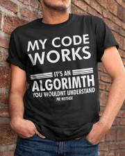 My code works Classic T-Shirt apparel-classic-tshirt-lifestyle-26