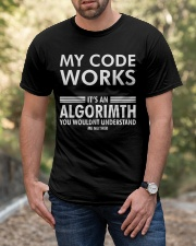 My code works Classic T-Shirt apparel-classic-tshirt-lifestyle-front-53