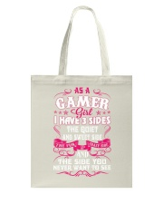 I am Gamer Girl Tote Bag thumbnail