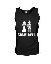Game Over Unisex Tank thumbnail