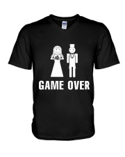 Game Over V-Neck T-Shirt thumbnail