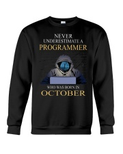 I am programmer Crewneck Sweatshirt tile