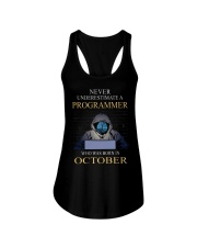 I am programmer Ladies Flowy Tank thumbnail