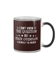 The Answer Color Changing Mug thumbnail