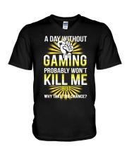 I am Gamer V-Neck T-Shirt thumbnail