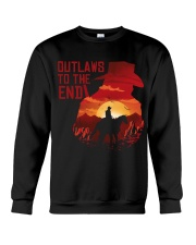 Outlaws to the end Crewneck Sweatshirt thumbnail